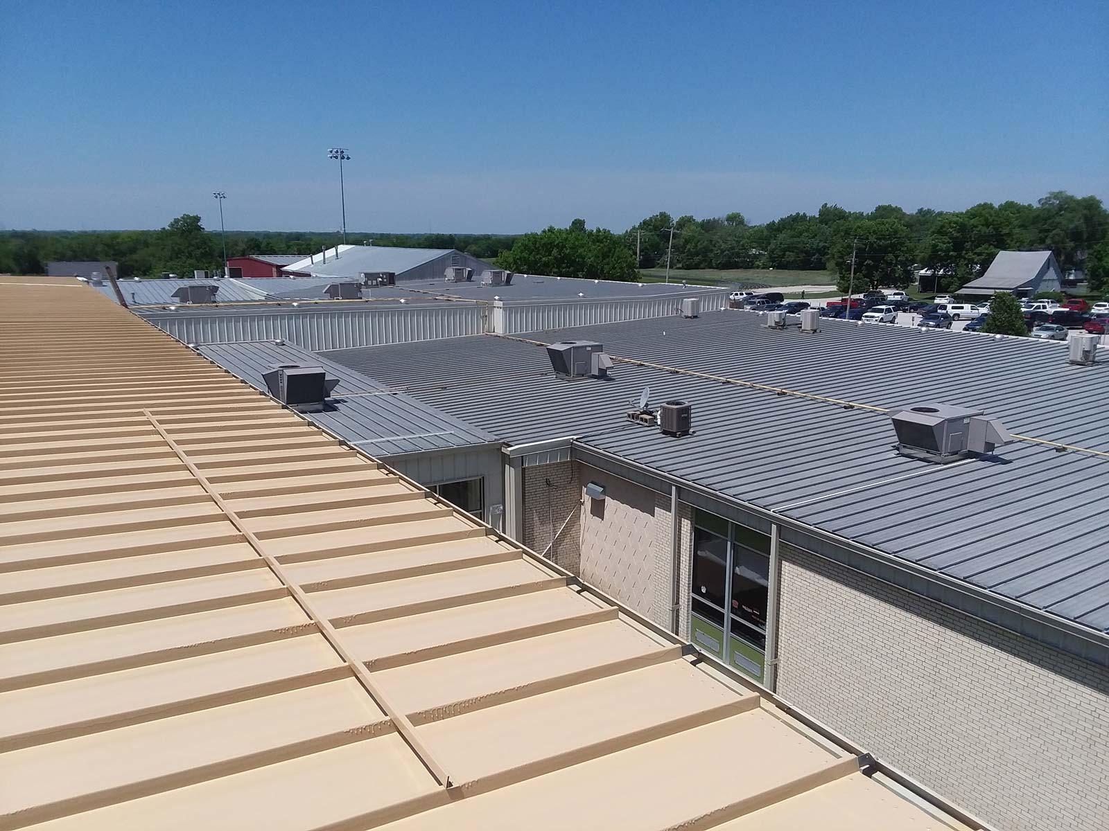 Meyer Method 380 standing seam metal roof