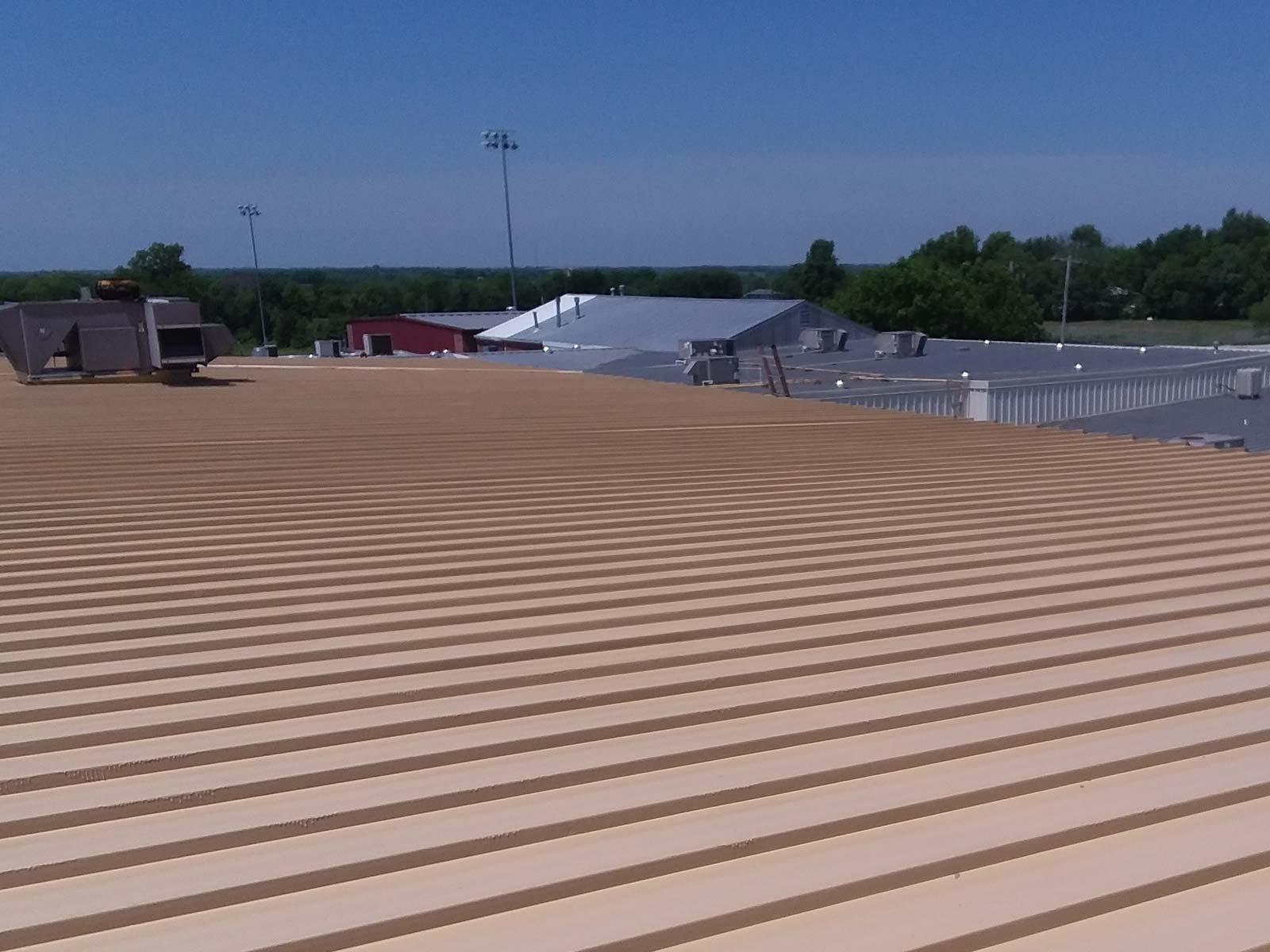 Meyer Method 380 over standing seam metal roof
