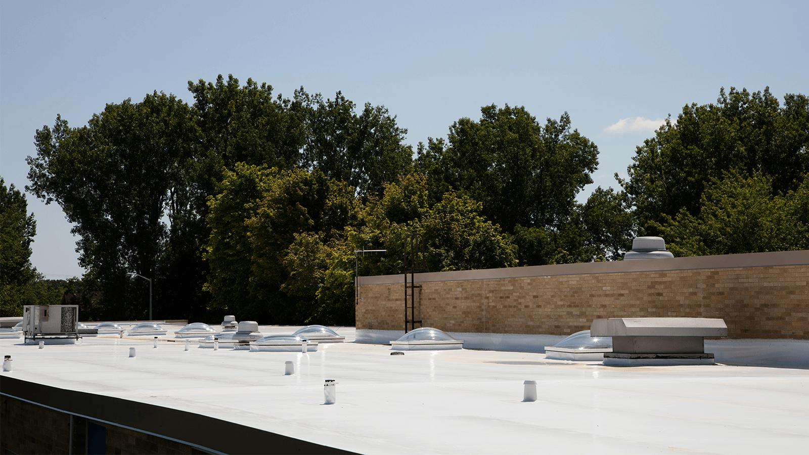 Duro-Last Roof, school building