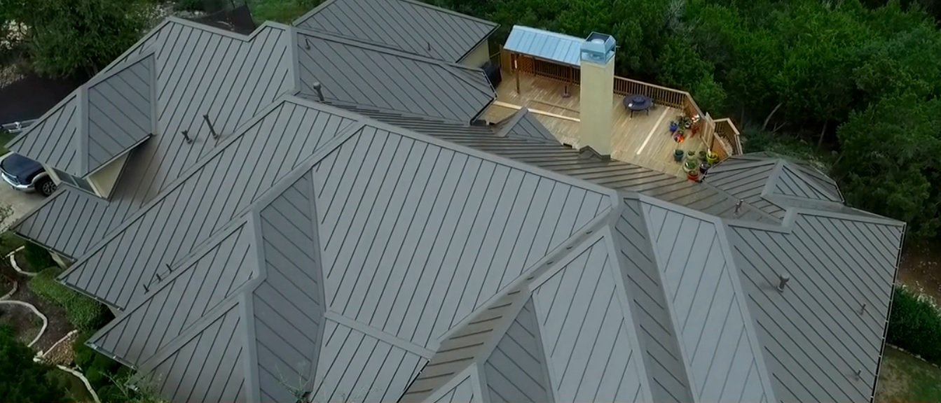 Meyer Roofing, Standing Seam Metal System with Snow Guards